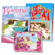 Домашний текстиль из России оптом  со склада в Алматы